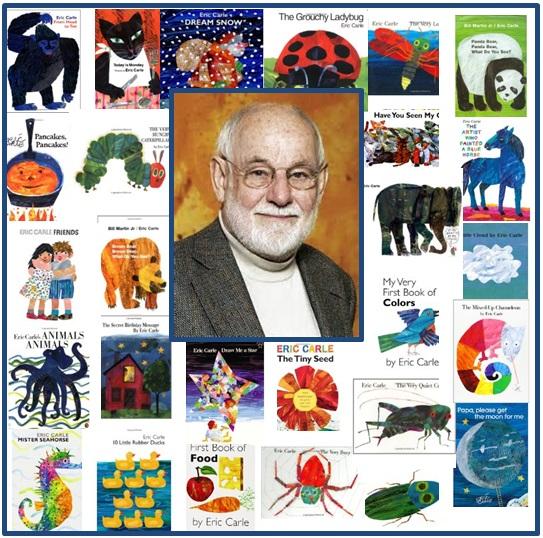 Eric Carle Preschool Theme on Eric Carle Author Study