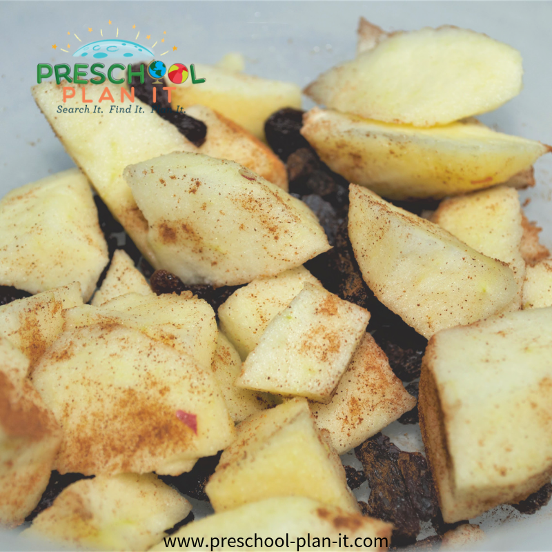 Fall Preschool Theme Snack Idea