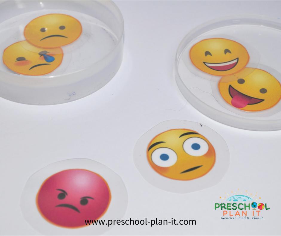 Feelings Preschool Theme Sorting Activity