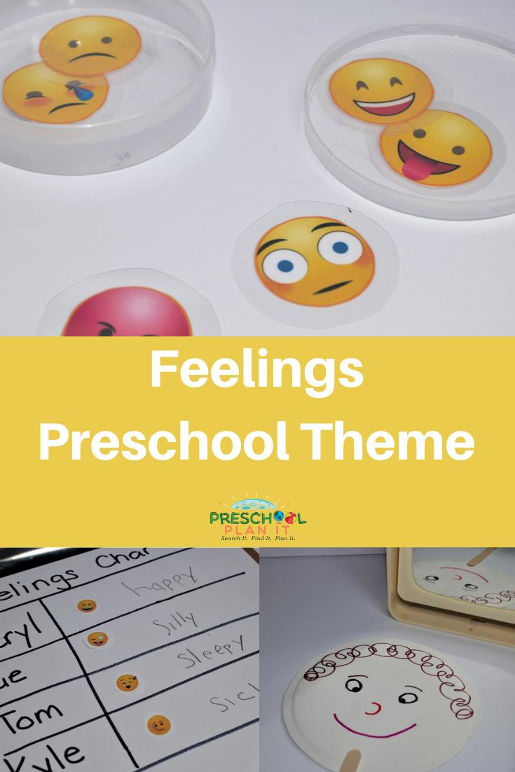 Preschool Feelings Theme