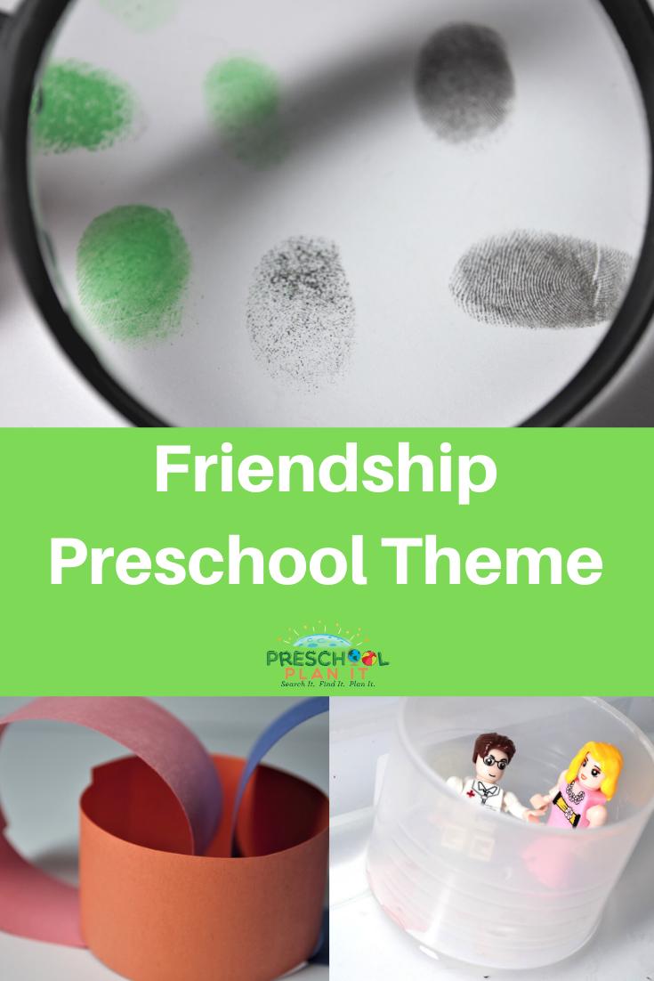 Preschool Friendship Theme