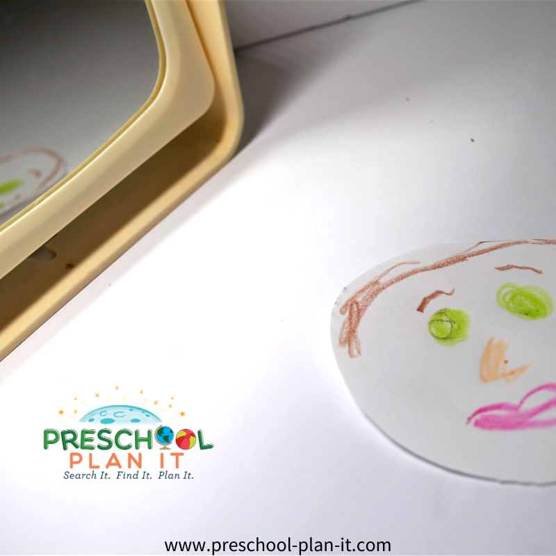God Made Me Preschool Theme Art Activity