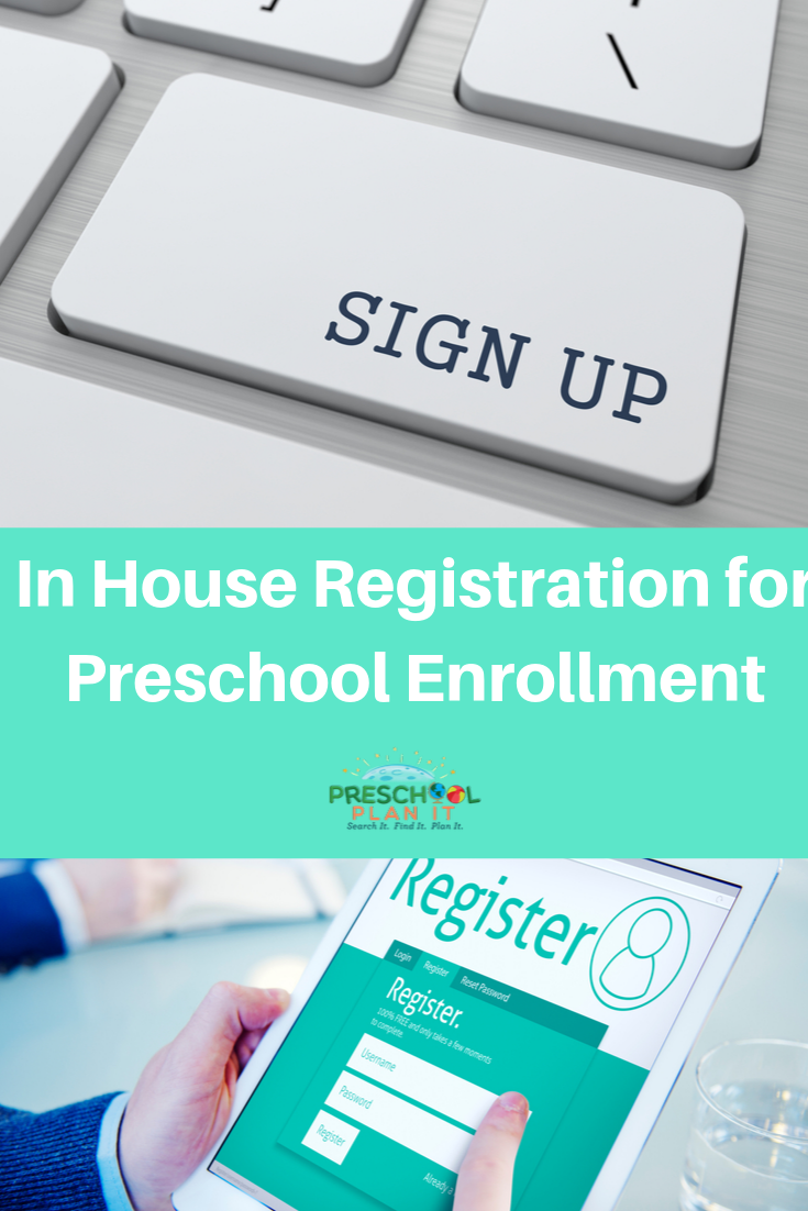 In house Registration for Preschool Enrollment