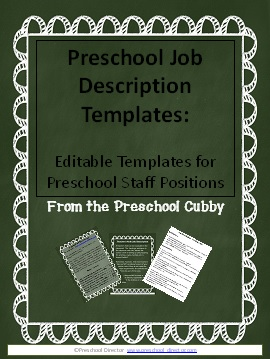 are you looking for job description templates that you can simply modify for your program i have created a resource pack that allows you to do just that teacher aides job description