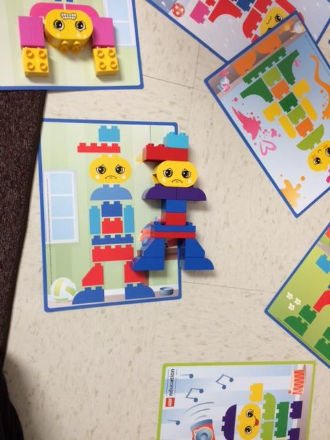 Preschool legos emotions