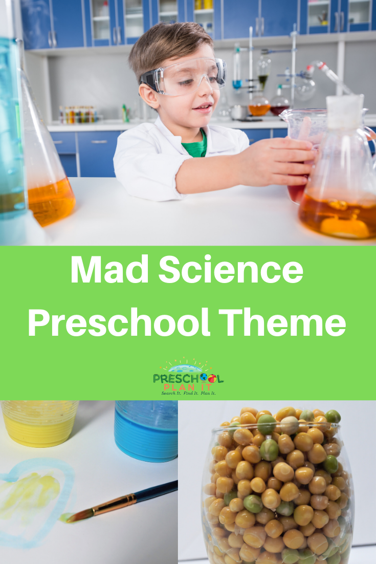 Mad Science Preschool Theme
