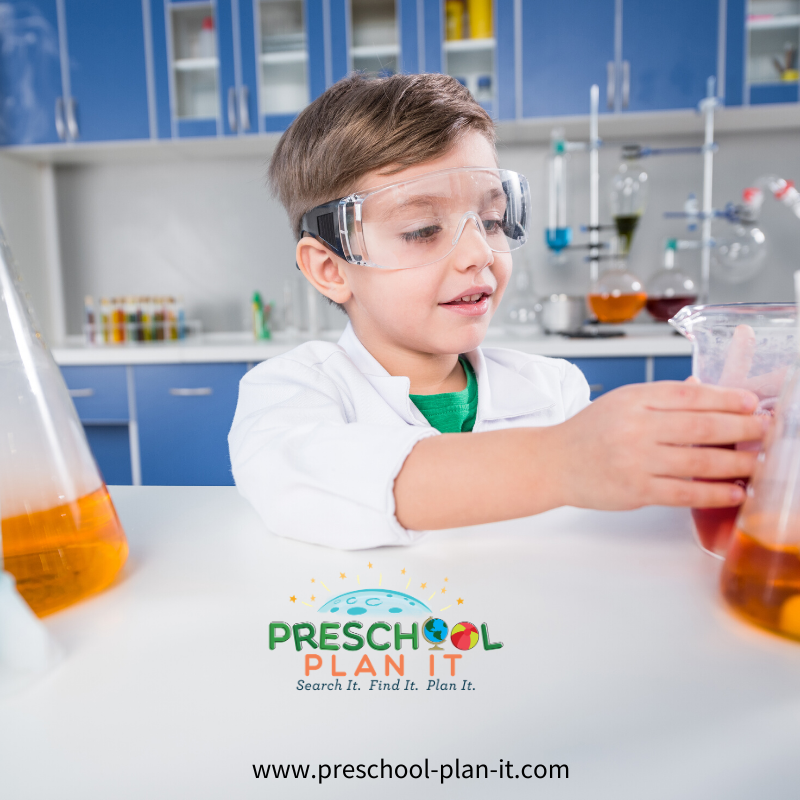 Mad Science Preschool Theme Drama Activity