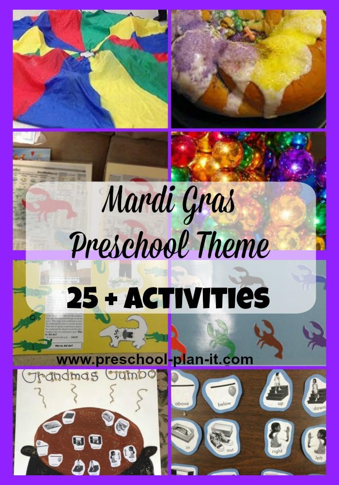 Mardi Gras Preschool Theme