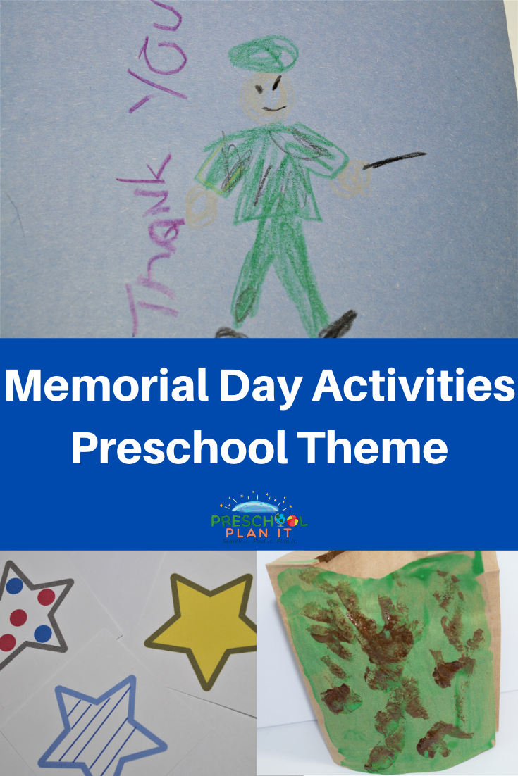 Memorial Day Activities Theme For Preschool