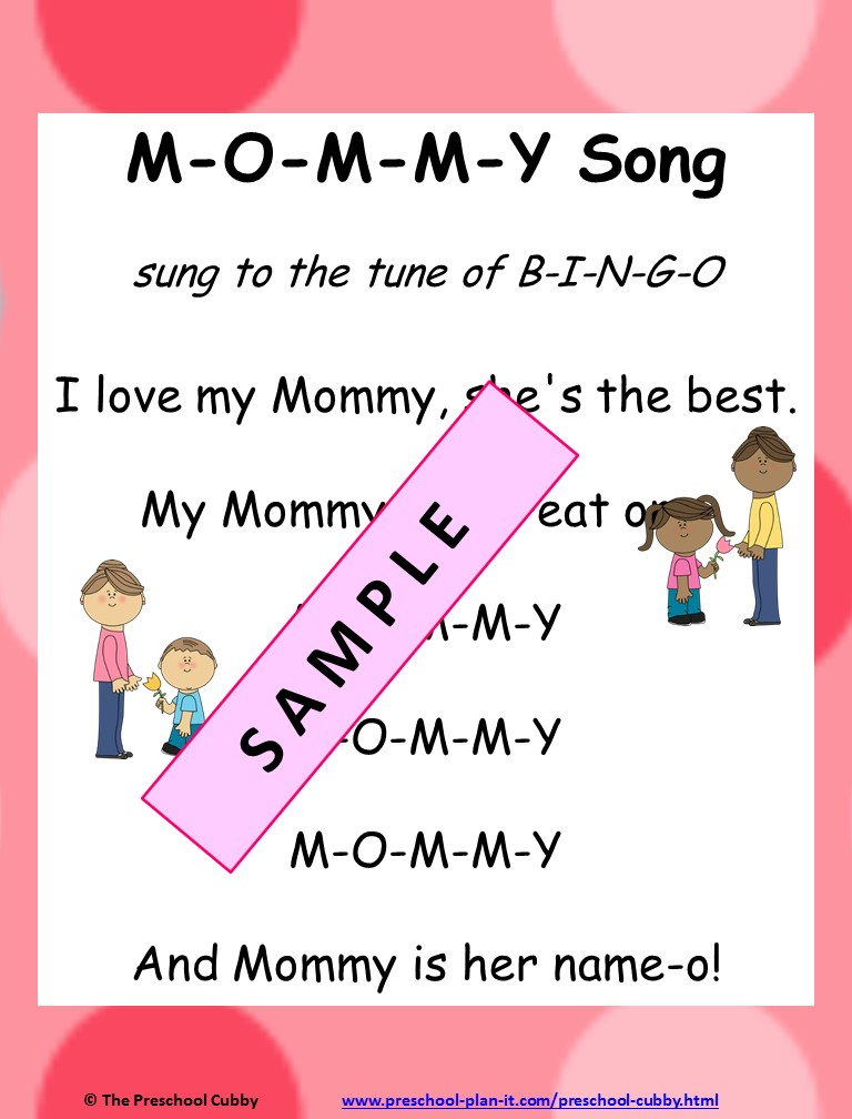 Mother's Day Preschool Theme Song