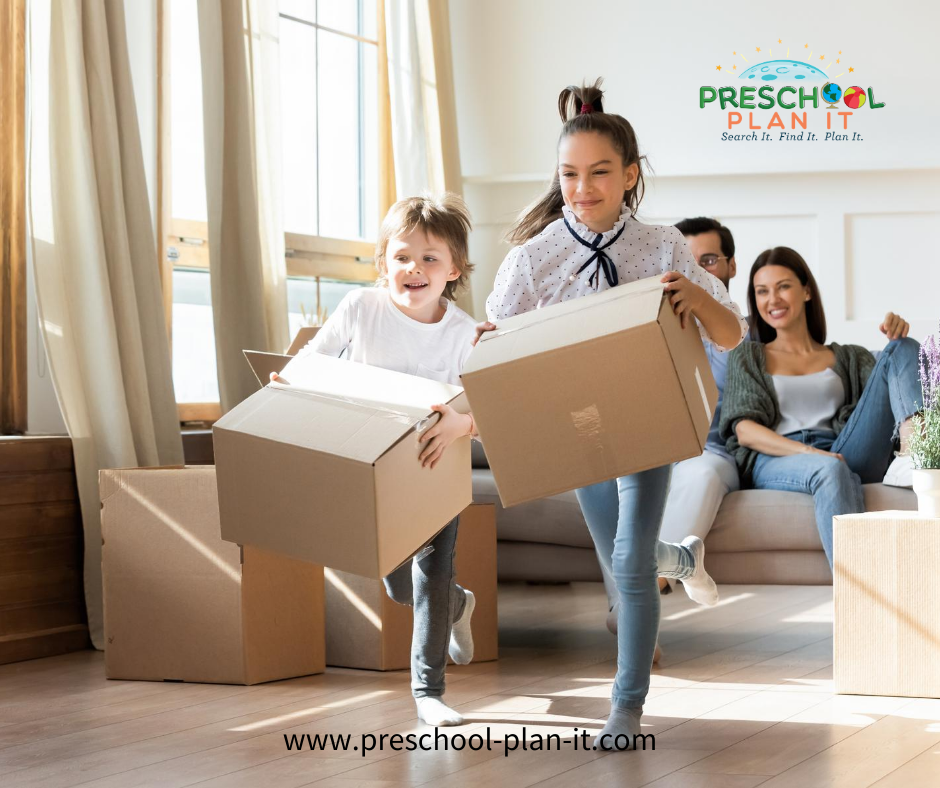 Moving to a new home with a Preschooler