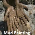 Preschool Mud Painting