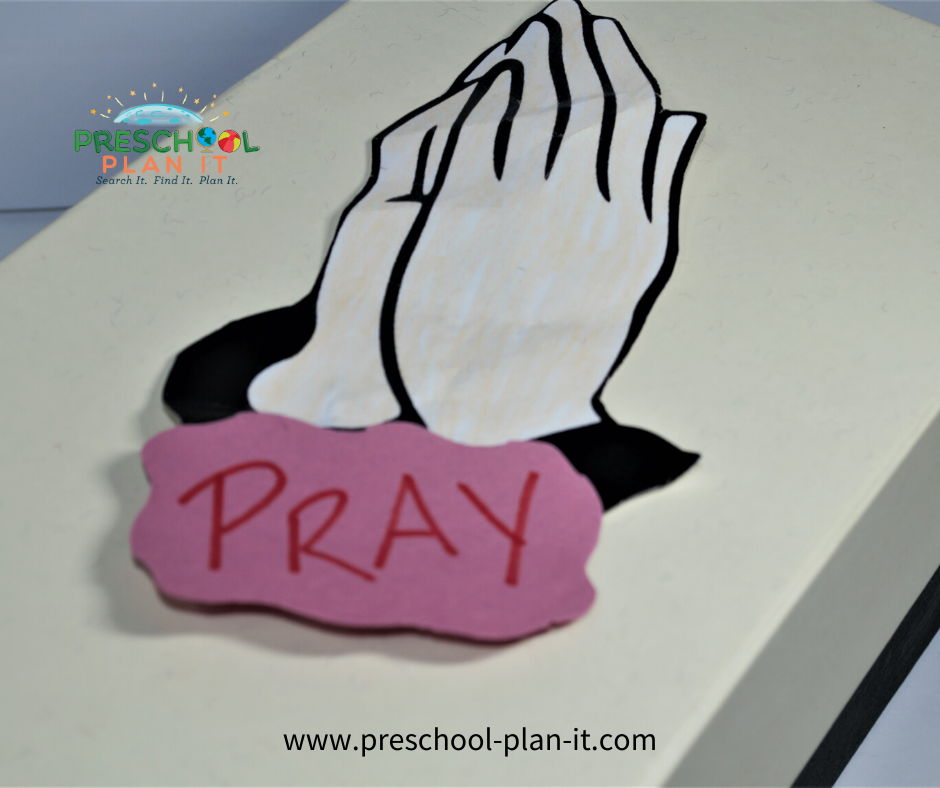 National Day of Prayer Preschool Theme Prayer Box