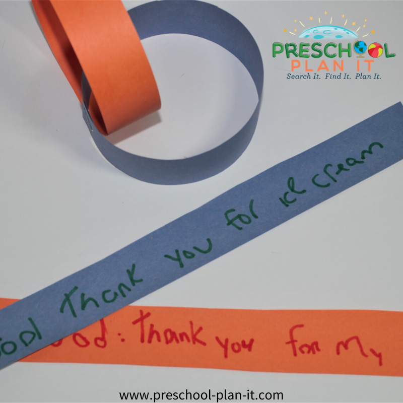 National Day of Prayer Preschool Theme Prayer Chain