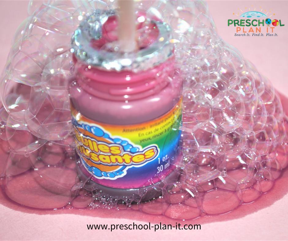 New Years Preschool Theme Science Activity