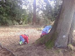 Preschool Outdoor Activities: Children just need imagination and creativity!