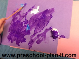 Painting in Preschool