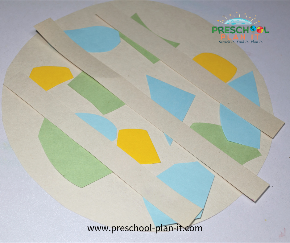 Pie Preschool Theme Art Activity