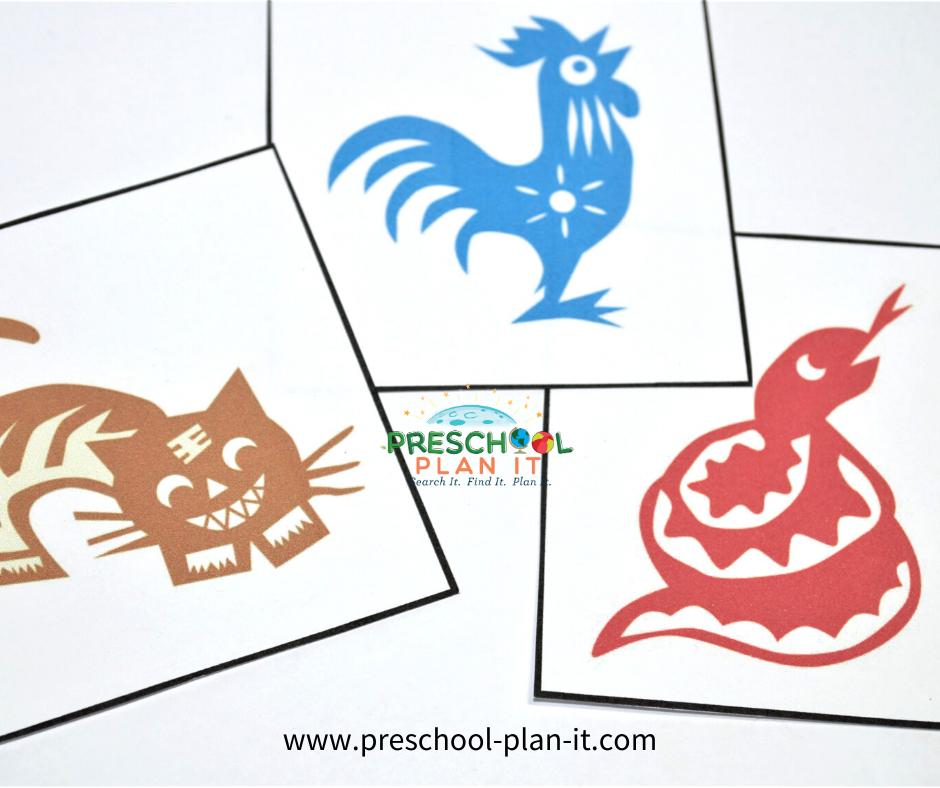 Preschool Chinese New Year Theme Movement Activity