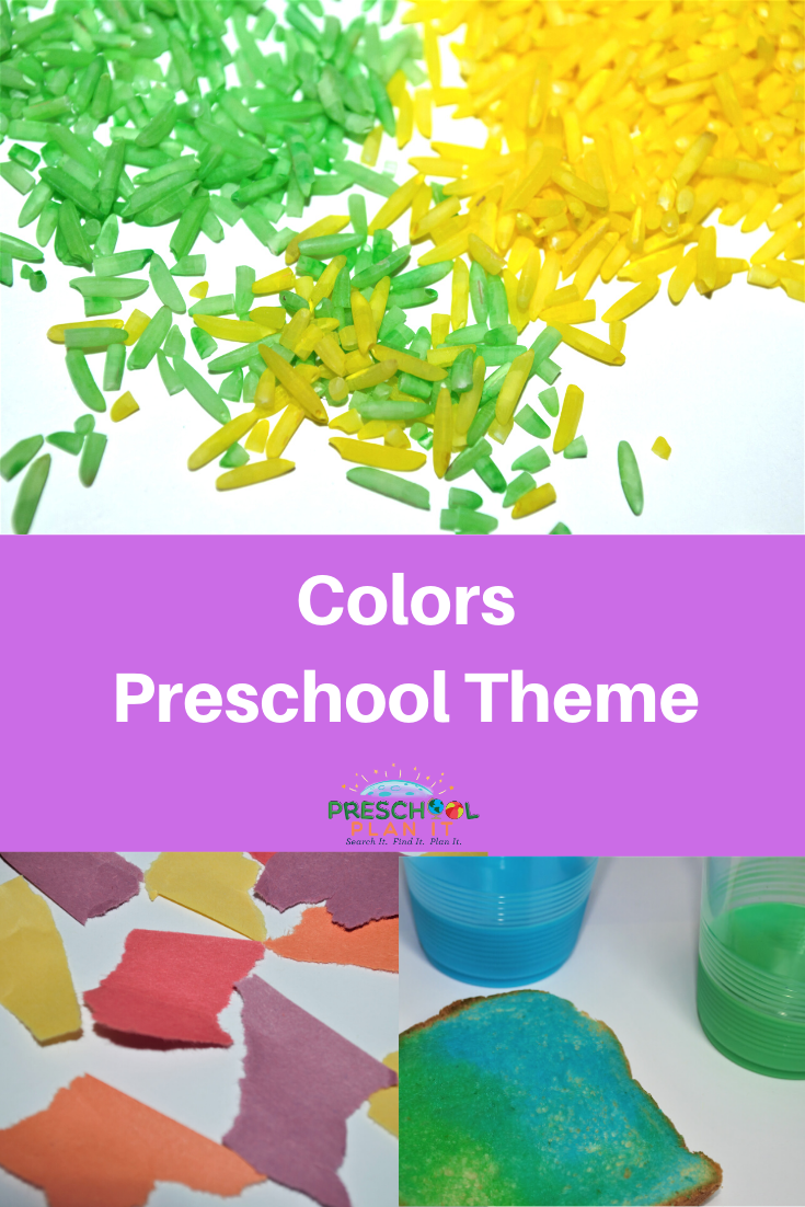 Preschool Colors Theme
