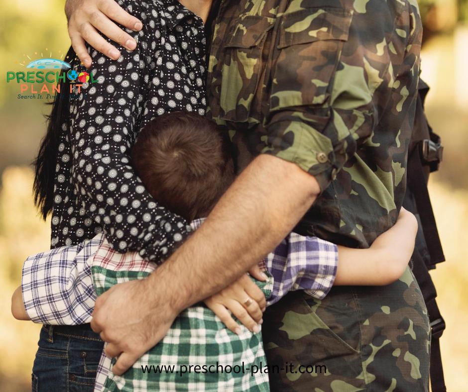 Helping preschooler with military Deployment
