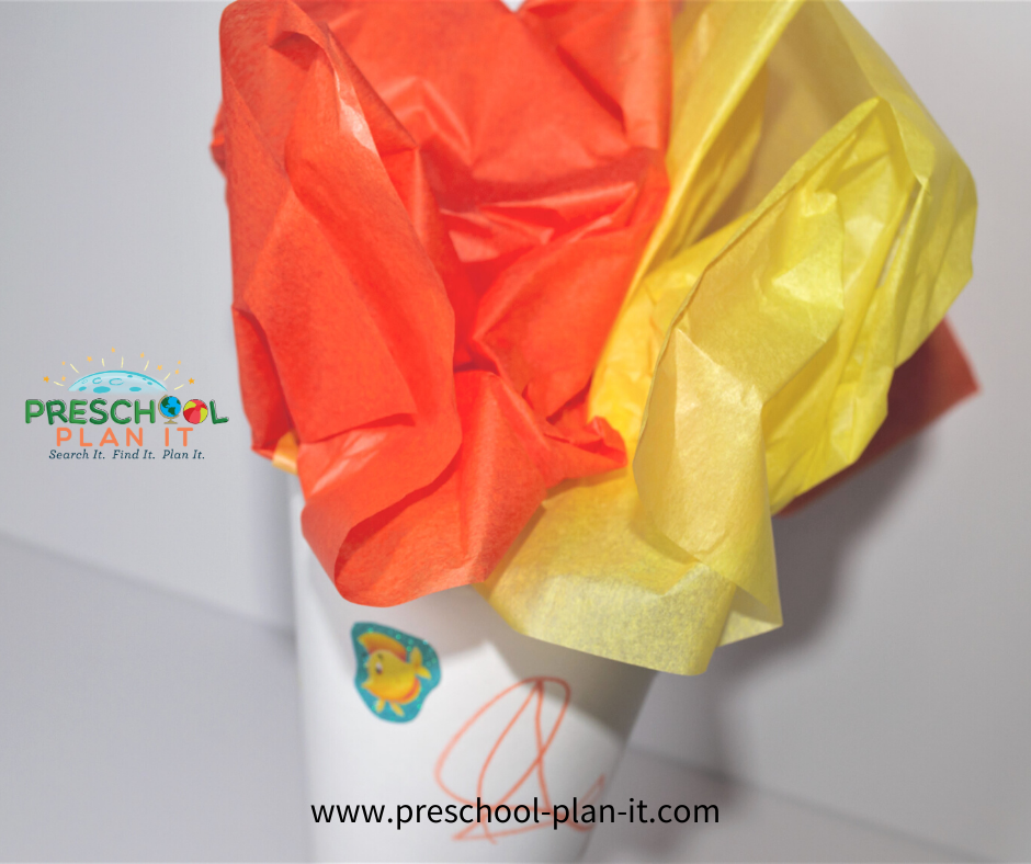 Preschool Olympic Theme Art Activity