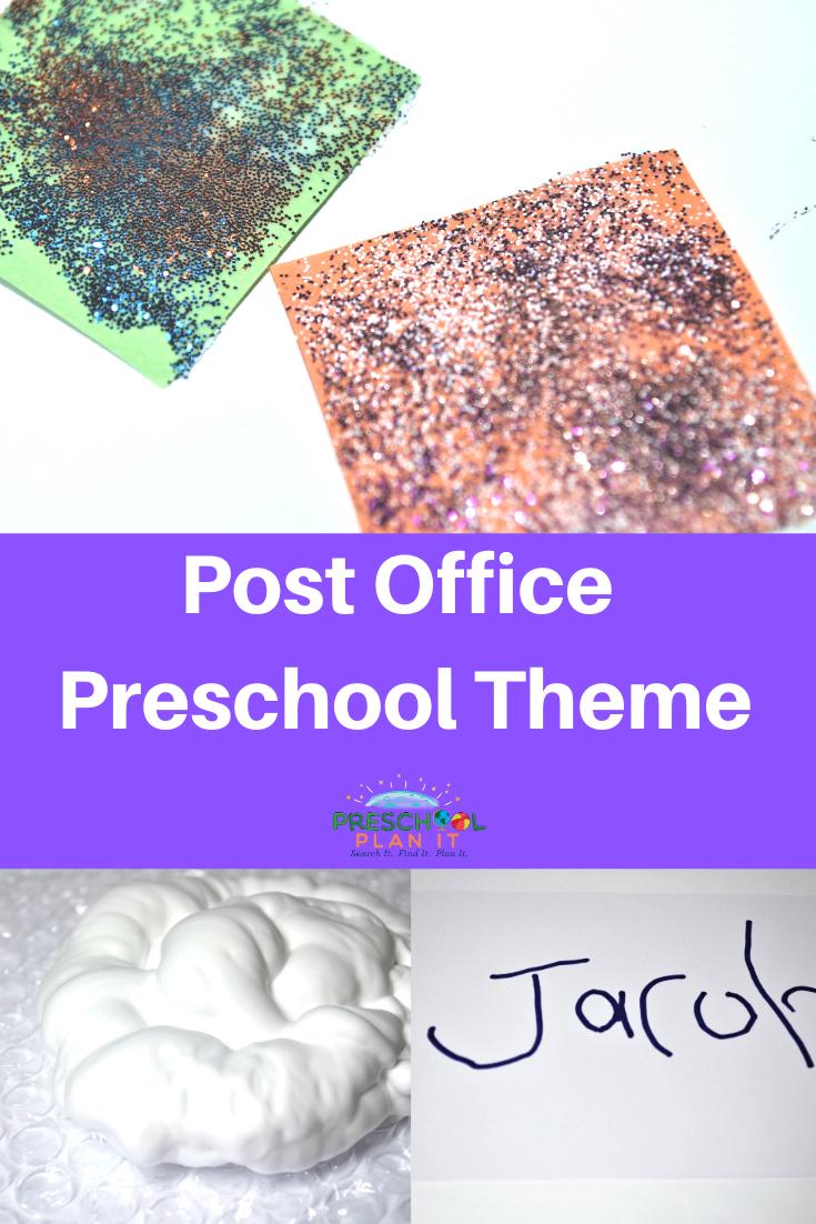 Preschool Post Office Theme