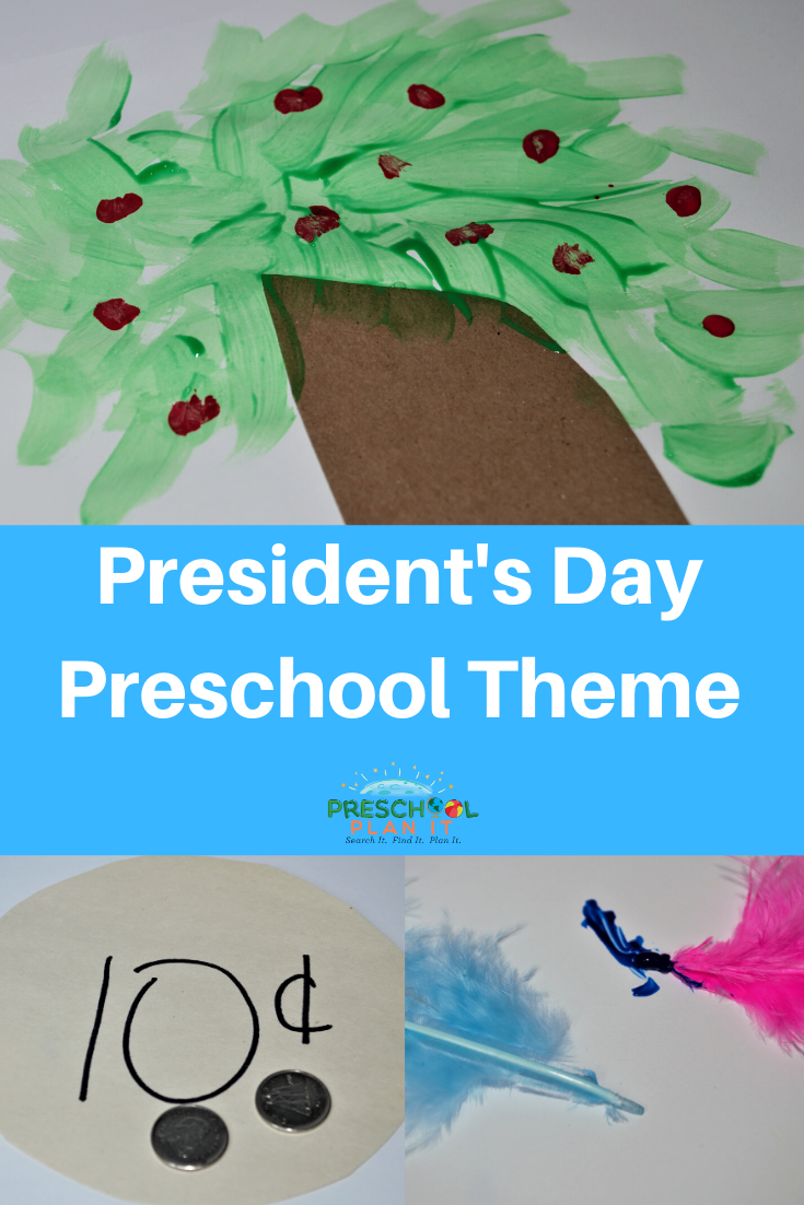 Preschool Presidents Day Theme