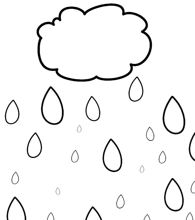 Rain Preschool Theme