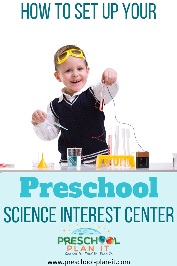 Preschool Science Interest Center