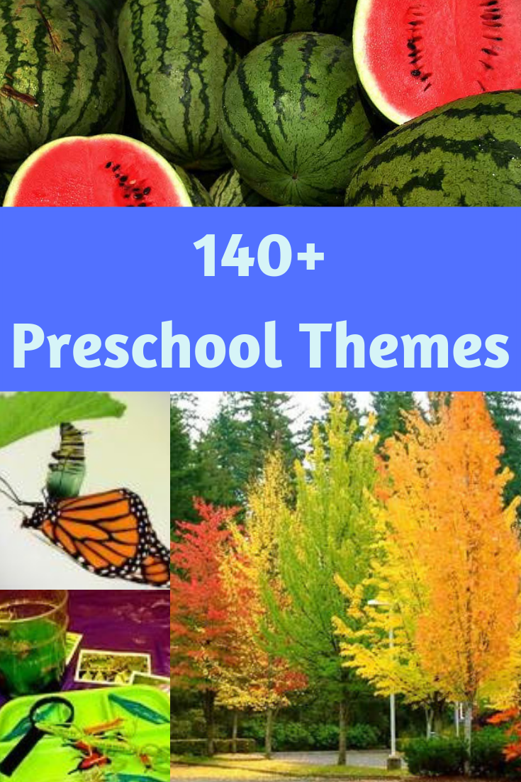 140 Preschool Themes With Over 4 000 Activities