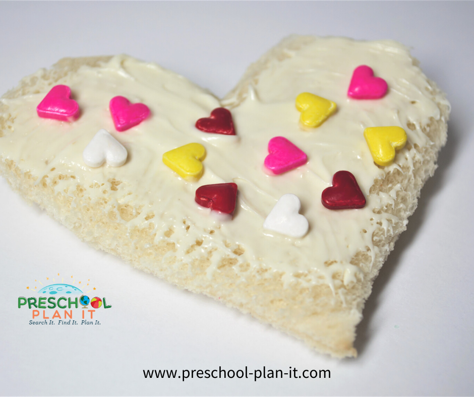 Preschool Valentines Day Theme Snack Idea