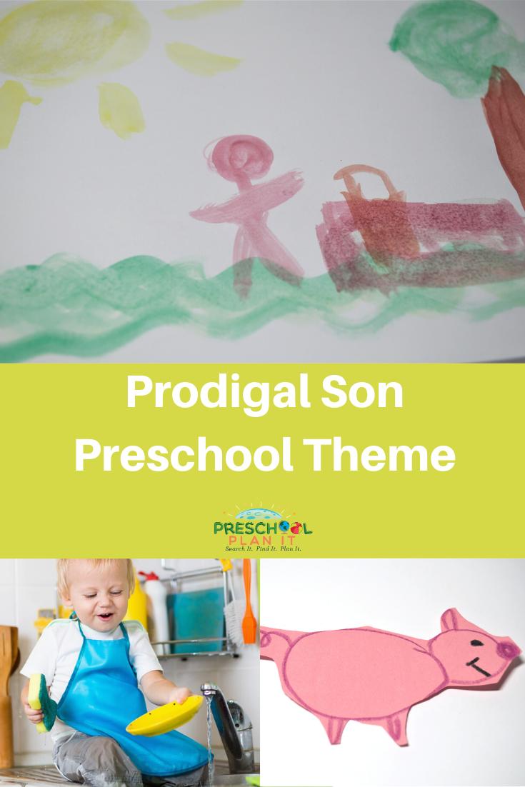 Prodigal Son Preschool Theme