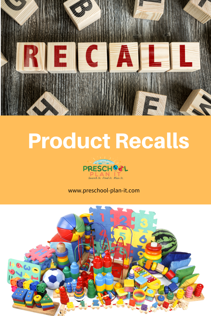 Product Recalls in the Preschool Classroom