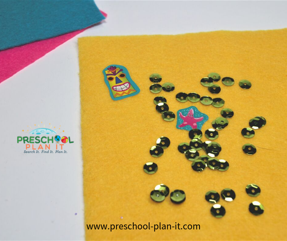 Quilts Preschool Theme Art Activity