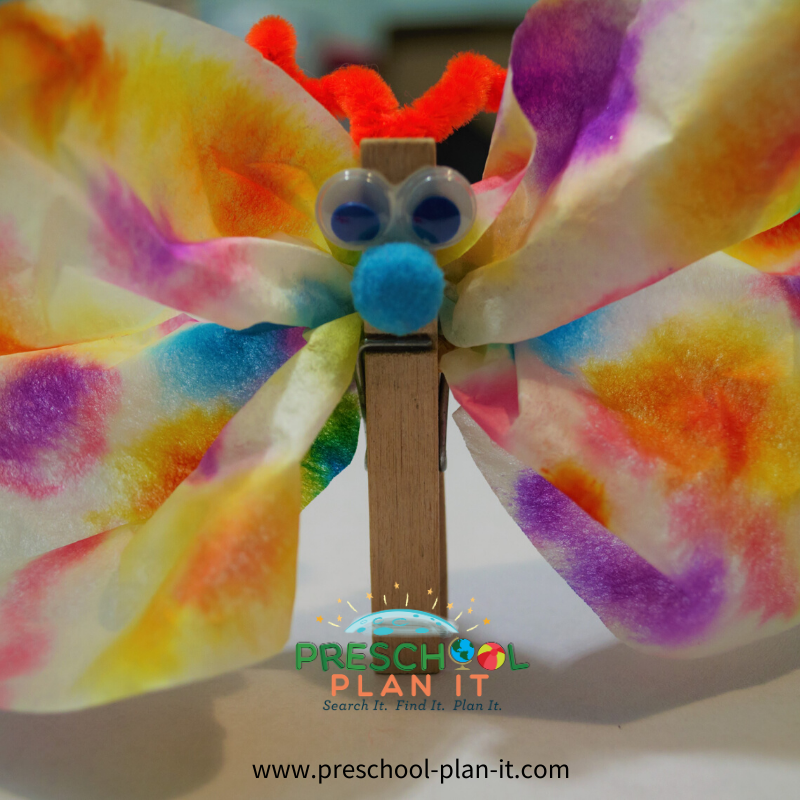 Rain Forest Preschool Theme Art Activity