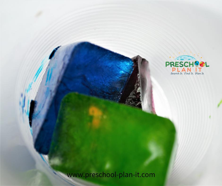 Rainy Days Activities Preschool Theme Painting Activity