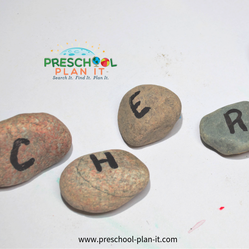 Rocks Theme For Preschool Activity