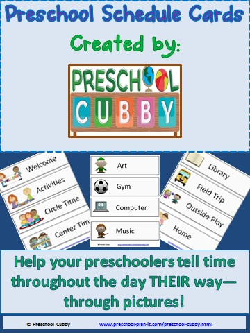 Tips  Tools To Plan A Daily Preschool Schedule