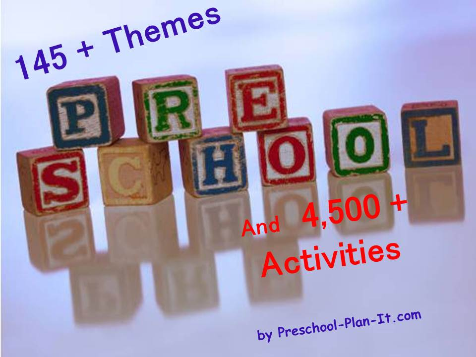 Preschool Lesson Plans Preschool Themes  More For Preschool