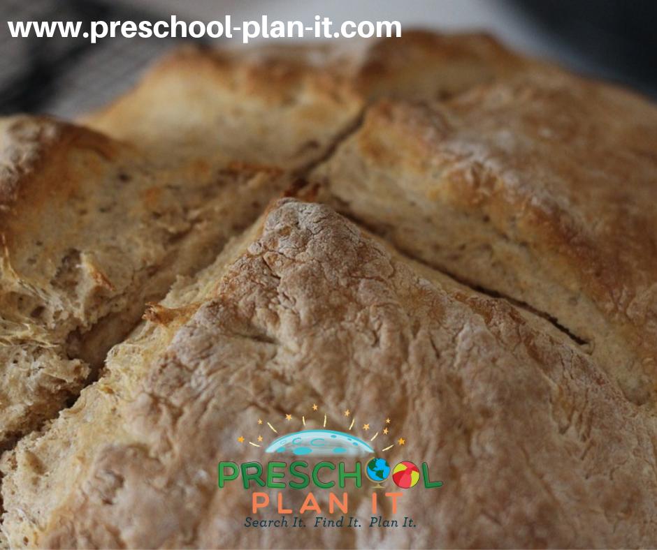 Irish Bread for St Patrick's Day Activities Preschool Theme