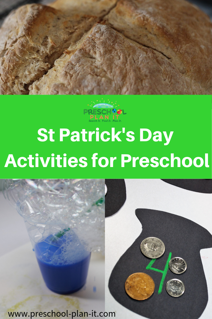 St Patrick's Day Activities Preschool Theme