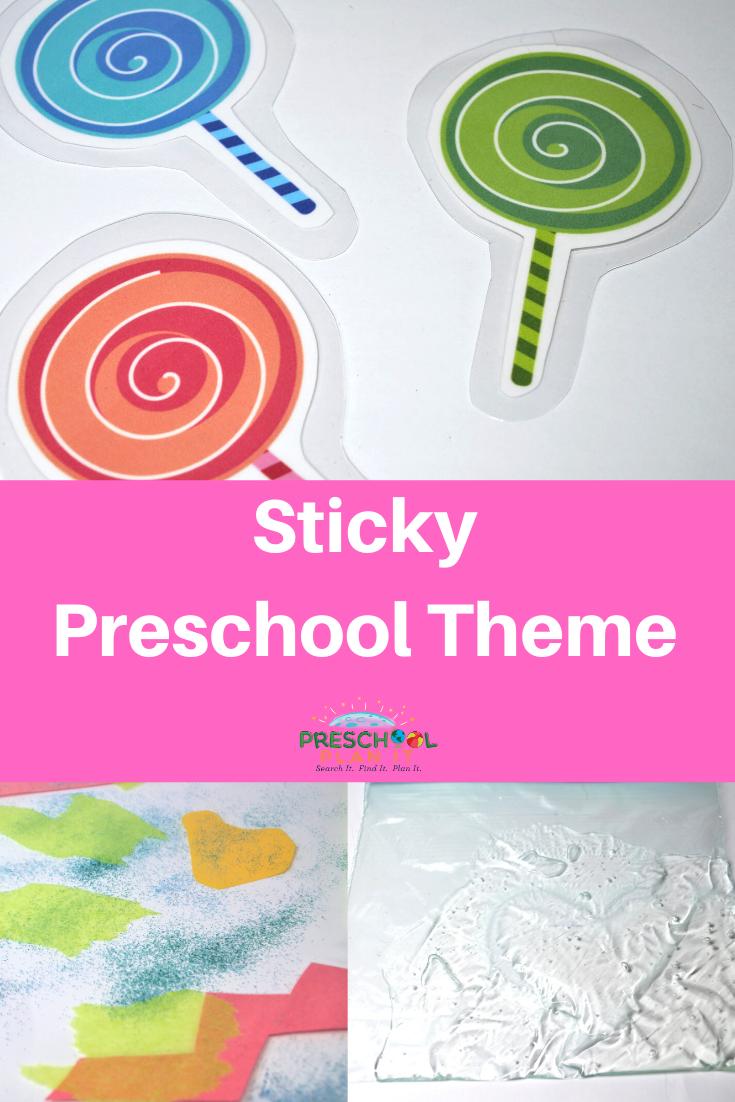 Sticky Preschool Theme