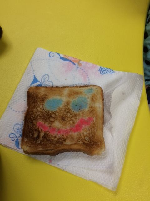 Painted Toast Healthy Snacks for Preschool