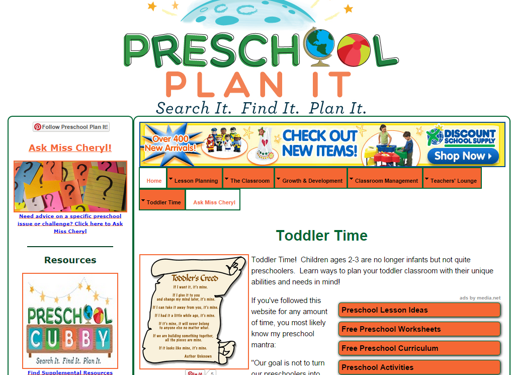Preschool Lesson Plans Preschool Themes Amp More For