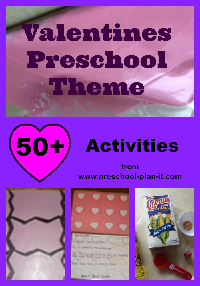 Valentines Day Preschool Theme