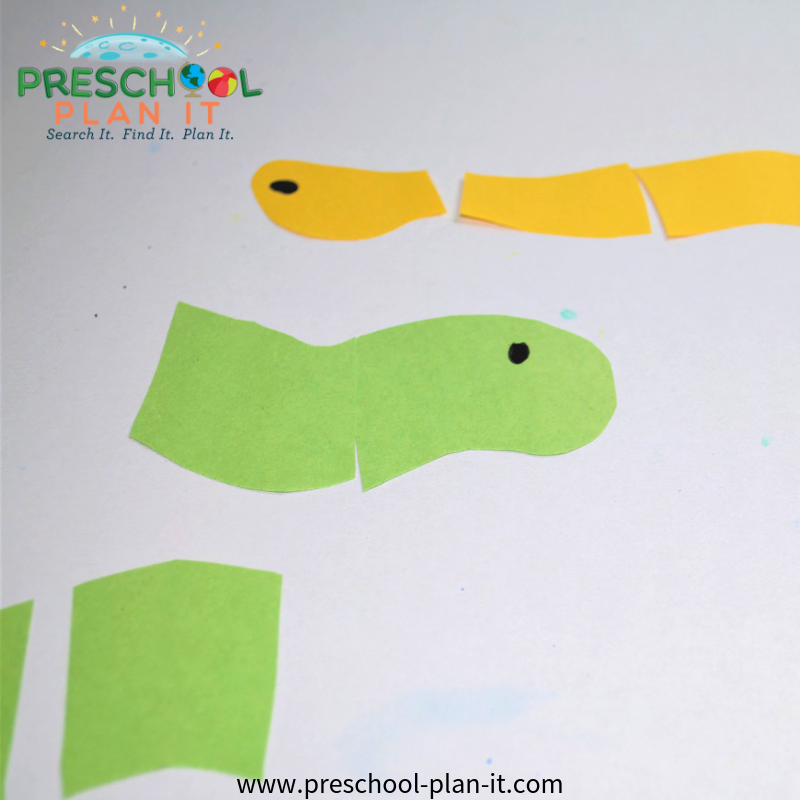 Worms Preschool Theme Puzzle