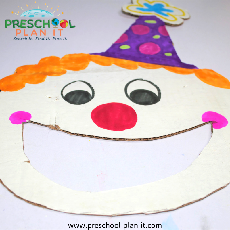 Circus Preschool Theme Bean Bag Tossing