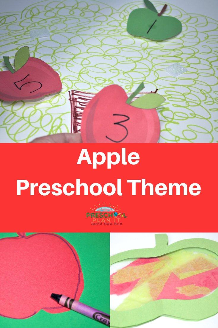 Apple Preschool Theme