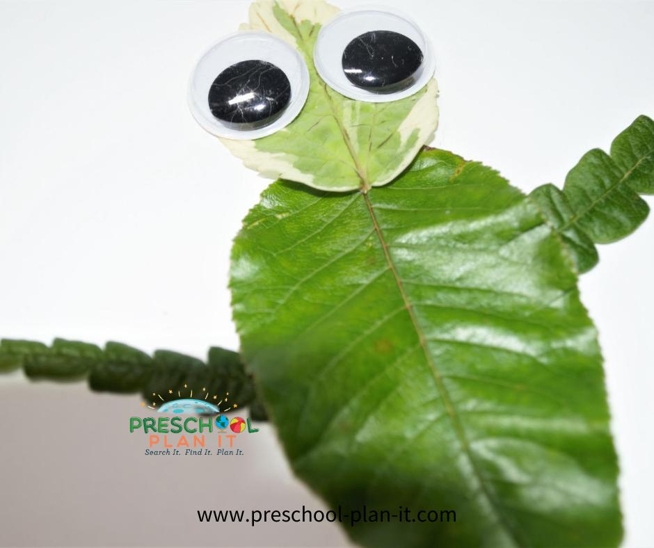 Arbor Day Preschool Theme Art Activity